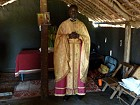 Fr. George in gift of vestments.