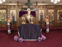 Good and Holy Friday at 3 pm.<br>The Tomb is prepared.