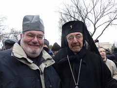 Archbishop Nikon and Fr. Joseph