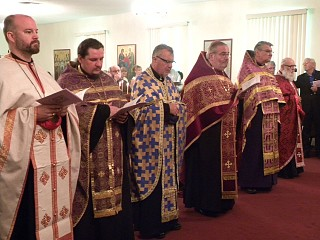 Clergy from many Orthodox Jurisdictions.